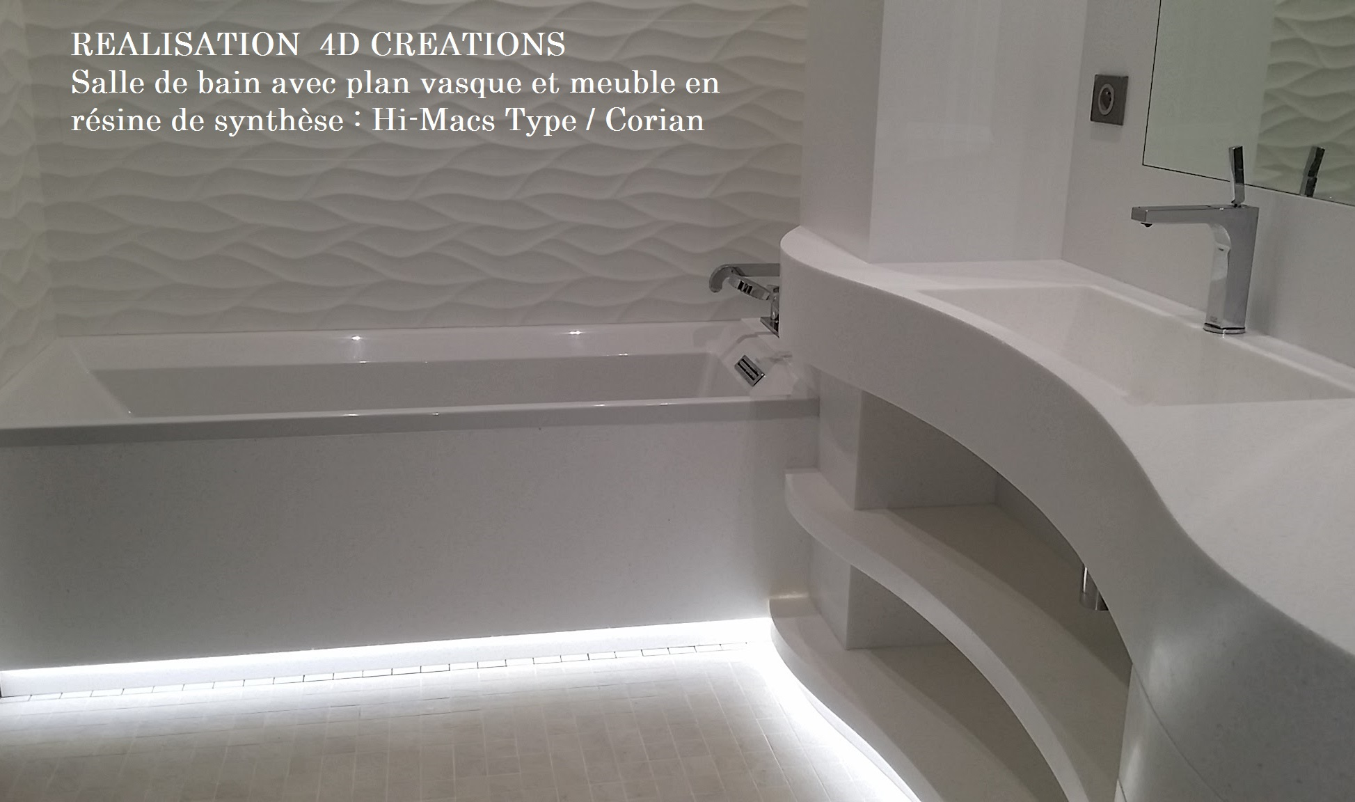 meuble salle de bain corian excellent lavabo en corian avec plan intgr avec unico lavabo avec. Black Bedroom Furniture Sets. Home Design Ideas
